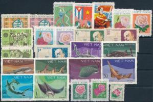 1979-1980 25 klf bélyeg, közte sorok