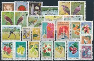 1980-1981 26 klf bélyeg, közte sorok