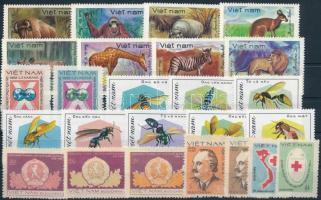 1981-1982 25 klf bélyeg, közte sorok