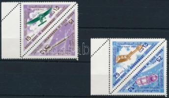 1967 Repülés sor 4 értéke ívszéli párokban Mi 214-217