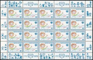 Nemzetközi gyermeknap kisívsor International Day of Children mini sheet set