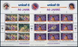 Unicef kisívsor Unicef mini sheet set