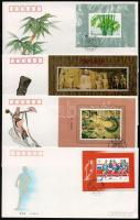 1991-1993 4 db FDC