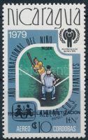 Children Year closing stamp with overprint Gyermekév sor záróértéke felülnyomott
