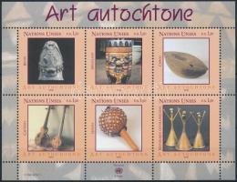 Native art block, Bennszülött művészet blokk