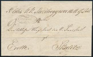 1848 Ex offo TOTH KOMLOS - Skalitz