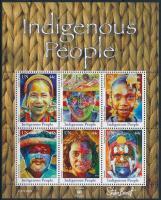 Indigenous people block, Bennszülött blokk