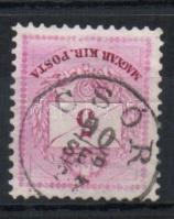 1881 5kr CSÓR