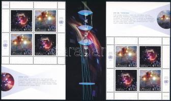 2013 Űrkutatás ívsarki pár + kisív Mi 1360-1361 + blokk Mi 39