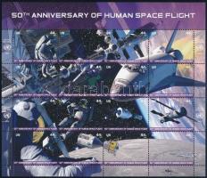 2011 Űrhajózás teljesív Mi 1254-1269