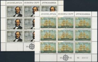Europa CEPT: Történelmi események kisív sor Europa CEPT Historical Events mini sheet set