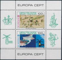 Europa CEPT: Az emberi elme nagy alkotásai blokk Europa CEPT The great works of the human mind block