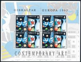 Europa CEPT: Contemporary art mini sheet set Europa CEPT: Kortárs művészet kisív sor