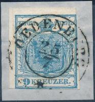 "1850 9kr HP I. ,,OEDENBURG"", 1850 9kr HP I. ,,OEDENBURG"""