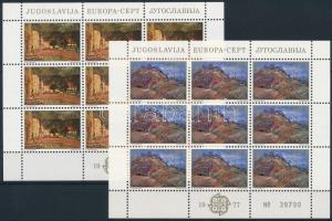 Europa CEPT: Tájképek kisív sor Europa CEPT Landscapes mini sheet set