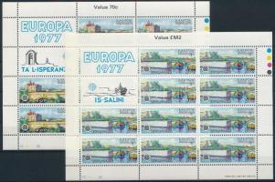 Europa CEPT: Landscapes mini sheet set Europa CEPT: Tájképek kisív sor