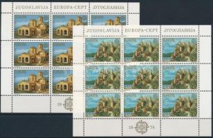 Europa CEPT: Történelmi épületek kisív sor Europa CEPT Historical Buildings mini sheet set