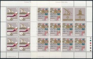 1979 Europa CEPT kisív sor Mi 594-595