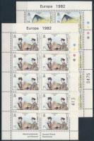 Europa CEPT: Historical events mini sheet set, Europa CEPT: Történelmi események kisív sor