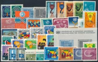 1960-1962 12 diff sets + 1 block, 1960-1962 12 klf sor + 1 blokk