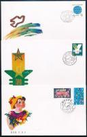 1987-1988 6 FDC, 1987-1988 6 db FDC