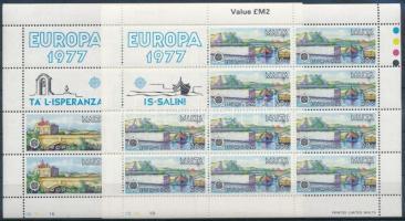 1977 Europa CEPT kisívsor Mi 554-555
