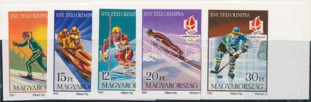 1991 Téli olimpia (IX.) - Albertville vágott ívszéli sor