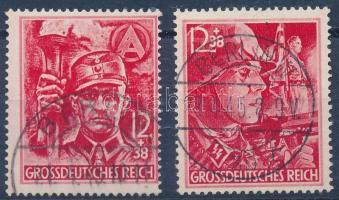 1945 Mi 909-910 (Mi EUR 2.400,-)