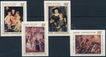 Rubens festmények vágott sor, Rubens imperforated set