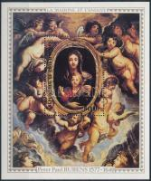 Rubens festmények blokk Rubens paintings block