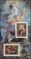 1978 Rubens festmények sor blokk formában Mi 606-609