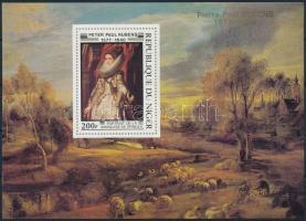 Rubens paintings set in blockform, Rubens festmények sor blokk formában
