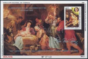 Rubens paintings block Rubens festmény blokk