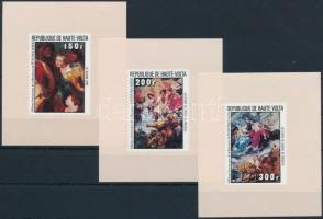 Rubens paintings de luxe blockset, Rubens festmények de luxe blokksor