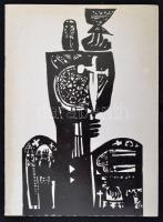 Deák Ferenc (1935 - ) festőművész aláírt kiállítási katalógusa