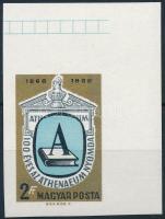 1969 Évfordulók - események (VII.) 100 éves az Athenaeum Nyomda vágott ívsarki bélyeg