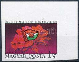 1971 Úttörő (II.) vágott ívsarki bélyeg