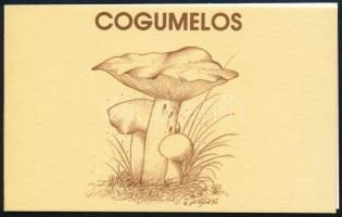 Gomba bélyegfüzet Mushroom stampbooklet