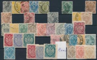 Bosznia kis tétel stecklapon (Mi EUR 130,-)