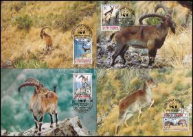 WWF Goat set 4 CM WWF: Kecske sor 4 db CM