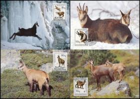 WWF: Kecske sor 4 db CM-en WWF: Goat set on 4 CM