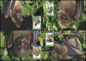 WWF: Repülőkutya sor 4 db CM-en WWF Bats set 4 CM