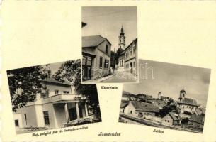 Szentendre, utcakép, Református polgári fiú és leányiskola