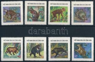 Vadon élő állatok sor Wild animals set