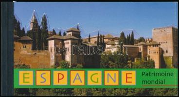 UNESCO Világörökség, Spanyolország bélyegfüzet UNESCO World Heritage, Spain stampbooklet