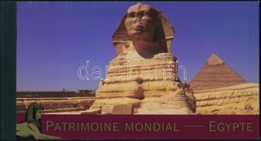 UNESCO Világörökség: Egyiptom bélyegfüzet UNESCO World Heritage, Egypt stampbooklet
