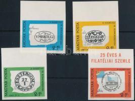 1972 Bélyegnap (45.) vágott sor ívszéli felirattal (3.500)