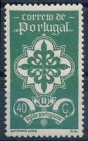 1940 Mi 610 (papírránc / crease)