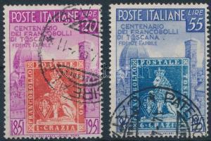 100 éves a toszkán bélyeg Tuscan stamp centenary
