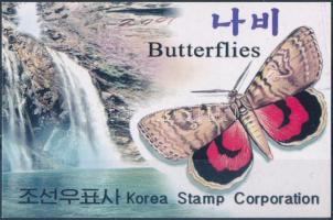 Butterflies stamp-booklet, Lepkék bélyegfüzet